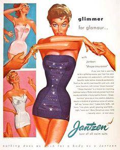 Jantzen Swim Suits Glimmer For Glamour