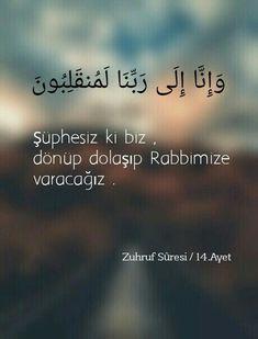Quran Quotes, Arabic Quotes, Islamic Quotes, Islam Muslim, Allah Islam, Quran Bible, Learn Turkish Language, Islamic Dua, Holy Quran