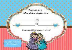 tarjetas maestras visitantes