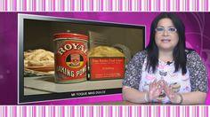 ¿Cuál es la diferencia entre bicarbonato y el polvo de hornear? - YouTube