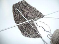 Ręko-czyny: wełniane skarpety na drutach krok po kroku