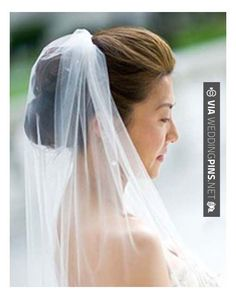 Wedding Hair With Veil Hairstyles, Wedding Updos With Veil Back: Hairstyles with veil, add a hair comb Veil Hairstyles, Wedding Hairstyles With Veil, Wedding Veils, Wedding Dresses, Bridal Hairstyles, Bridal Beauty, Wedding Beauty, Dream Wedding, Wedding Hair And Makeup