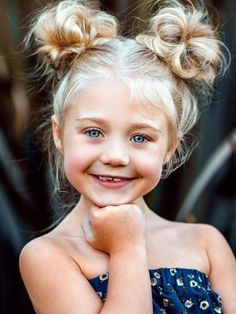 102 Awesome Kids Hairstyles You Have to Try Out on Your Kids Baby Hair Style baby girl hair style Cute Hairstyles For Kids, Cute Girls Hairstyles, Pretty Hairstyles, Braided Hairstyles, Easy Little Girl Hairstyles, Halloween Hairstyles, Hairstyle For Kids, Wedding Hairstyles, Hairstyles For School Girls