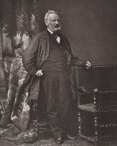 Victor Hugo (1802-1884), avant 1876 | Photographe : Bertall