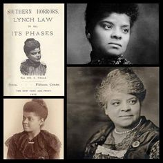 Black ThenHappy Birthday, Ida B. Ida B Wells, Black History Quotes, Coloured People, Black Families, Civil Rights Movement, Victorian Women, Iconic Women, Artist Trading Cards, Reference Images