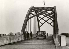 """Brug bij Terheijden 1935. Verwoest in de tweede wereldoorlog"""""""