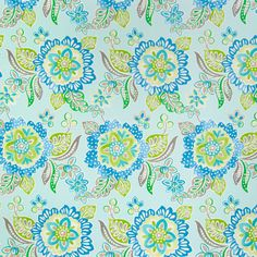 cobalt blue floral print upholstery fabric | products and search