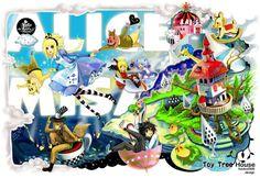 【ALICE-MISA-飛躍的夢】 Itinerary of leaping by HOELEX 牽絆著身邊的好朋友, 一起飛躍起來吧!
