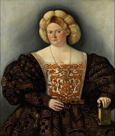 Madame de Pompadour (Portrait of a woman by Bernardino Licinio, Italian Renaissance Dress, Renaissance Portraits, Renaissance Fashion, Renaissance Clothing, Renaissance Art, Tudor Fashion, Medieval Gown, Renaissance Costume, Steampunk Fashion