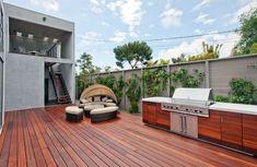 12 Rooftop Kitchen Ideas Rooftop Roof Deck Deck Design