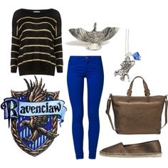 """""""Ravenclaw Harry Potter"""" by jboothyy on Polyvore"""