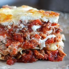The BEST Lasagna   The Hopeless Housewife