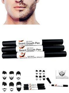 [Visit to Buy] Fast Effective Face Beard whiskers moustache growth Enhance liquid pen Enhancer style spray Shape growth liquid pen #Advertisement