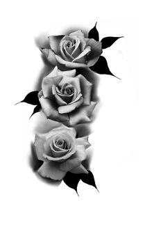 Beautiful Flower Drawings, Pencil Drawings Of Flowers, Flower Tattoo Drawings, Flower Tattoos, Tatto Floral, Floral Tattoo Design, Tattoo Designs, Rose Tattoos For Men, Tattoos For Guys