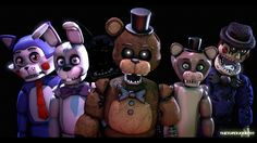 FNAF Fan Games (From left to right) Five Nights at Candy's, Those Nights at Rachel's, Joy of Creation, Popgoes, and The Return to Freddy's. Scariest Monsters, Cool Monsters, Fnaf Oc, Foxy And Mangle, Freddy 3, Sister Location, Everything Is Awesome, My Little Baby, Five Nights At Freddy's