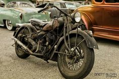 A barn find. What an amazing motorcycle. Thank you for sharing Danny Perkins. Vintage Motorcycles, Custom Motorcycles, Custom Bikes, Cars And Motorcycles, Indian Motorcycles, Custom Bobber, Motos Vintage, Vintage Bikes, Cool Bikes