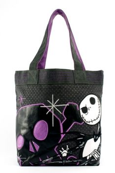 Nightmare Before Christmas Tote Christmas Baby Shower, Christmas Fun, Emo, Jack The Pumpkin King, Types Of Purses, Sally Nightmare Before Christmas, Punk, Jack And Sally, Patches