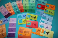 I love the paint chip cards you get in DIY stores, I often pick up a handful because they're useful for craft projects at school.  I've noticed that lots of other people are similarly inspired; her...