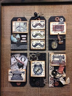 cha-winter 2013 recap… stampers anonymous | Tim Holtz.pin
