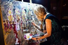 Image result for live painter at event
