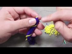 NEW Stitch! Peyote With a Twist - Not Bead Crochet - YouTube