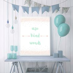 Nursery Decor, Pretty Playroom Wall Art Newborn Baby Gift, Play Room Sign Kids Birthday Gifts, Girls Room Christening Gift Girl, Kids Signs