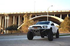 WSDMoto Toyota Tacoma Prerunner with Camburg long travel suspension