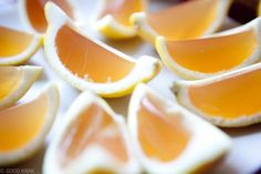 Arnold Palmer Jello Shots - perfect for a round of golf!