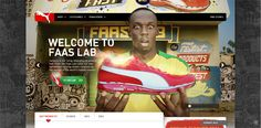 another website coded in HTML5 - Puma