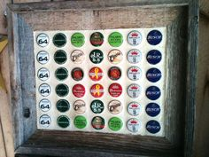 Recycling bottle tops