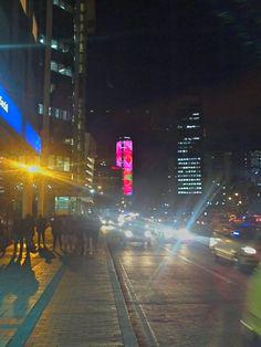 De paseo nocturno por Bogotá
