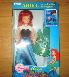 Tyco Tour the Kingdom Ariel Little Mermaid doll - Rare | 16+3.5