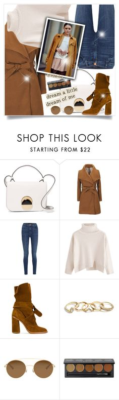 """Untitled #749"" by beautifulplace ❤ liked on Polyvore featuring Marni, J Brand, Casadei, GUESS, Mykita and Sephora Collection"