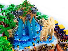 LEGO Legends of Chima Water Park Lion Pool