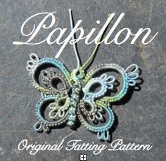 Papillon   TATTING PATTERN by LaCossette on Etsy, $3.25