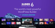 Beautiful templates for every need: Sliders, Hero Blocks, Galleries, Content Blocks and One-Page Websites come with the Slider Revolution WordPress Builder!
