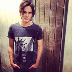 And he's definitely the type of guy you take home to mom. | 21 Reasons Tyler Blackburn Deserves Your Undivided Attention