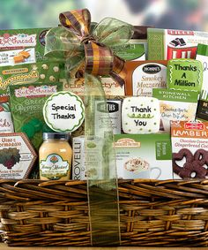 Take a look at this Many Thanks Chocolate & Candy Gift Set by Wine Country on #zulily today!