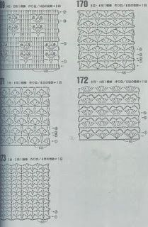 """A""-made by Ljubinka: Šeme za heklanje Crochet Diagram, Crochet Chart, Crochet Stitches, Box Patterns, Stitch Patterns, Crochet Patterns, Learn To Crochet, Free Pattern, Projects To Try"