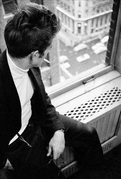 James Dean in New York, 1955. Photo: Dennis Stock.