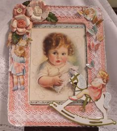 Little Darlings altered frame