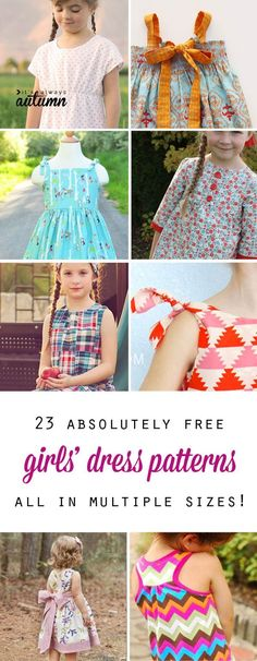 1e50693f74cf 93 Best -Dress Patterns for Girls images in 2019