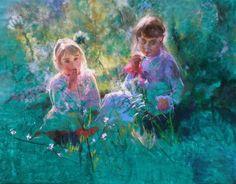 FIELD Painting by Massimo Chioccia & Olga Tsarkova  http://www.chioccia-tsarkova.it/ #orvieto