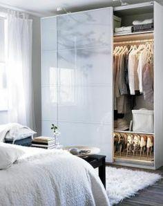 Wardrobe - lighting inside