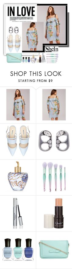 """""""SheIn"""" by aurora8918 ❤ liked on Polyvore featuring Marc Jacobs, Lolita Lempicka, Forever 21, Christian Dior, Deborah Lippmann and ZALORA"""
