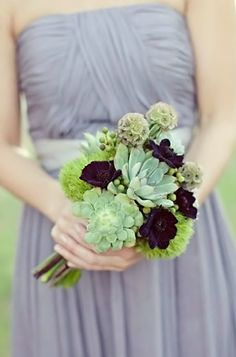 for size and interesting materials- in regards to the bridesmaids
