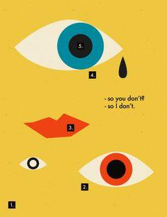 Eye Design Illustration New Ideas Illustration Design Graphique, Eye Illustration, Art Graphique, Modern Graphic Design, Graphic Design Inspiration, Graphic Art, Graphic Eyes, Graphic Designers, Edition Jeunesse