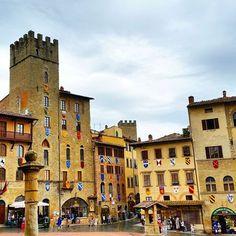 Arezzo nel AR #mobilephotography #visitarezzo