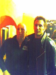 Me & Mike Terrana (Rage) - April 2004