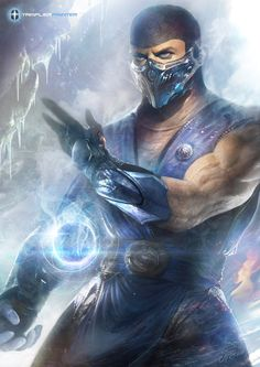 Sub-Zero Digital Art Character Drawings Fan Art Games Mortal Kombat Movies & TV Paintings & Airbrushing Sub Zero Sub Zero Mortal Kombat, Art Mortal Kombat, Mortal Kombat Tattoo, Mortal Kombat Comics, Design Spartan, Minions, Mileena, Video Game Characters, Video Game Art